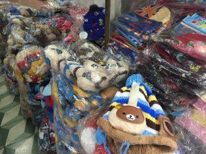 Thiết bị lạ gắn trên mũ len Trung Quốc là đồ chơi phát nhạc?