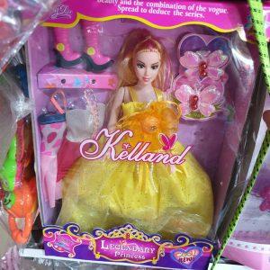 Đồ chơi hộp búp bê mặc váy công chúa