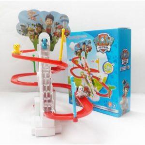 Bộ đồ chơi đường đua Robocar Poli (đồ chơi leo thang)