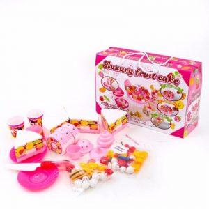 Bộ Đồ Chơi Cắt Bánh Sinh Nhật Cho Bé (Nhựa Cao Cấp)