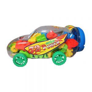 Bộ đồ chơi xếp hình siêu xe Sato (48 miếng ghép)