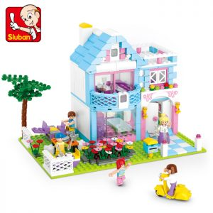 Bộ đồ chơi lắp ráp Sluban – Biệt Thự Sân Vườn (539 chi tiết)