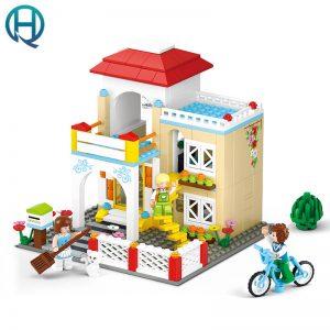 Bộ đồ chơi lắp ráp Sluban – Ngôi Nhà Hạnh Phúc (380 chi tiết)