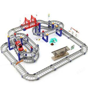 Bộ đồ chơi đường đua Ô tô lắp ráp (88 chi tiết)