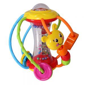 Đồ chơi quả bóng sức khỏe Huile Toys 929 (Xúc xắc luồn hạt chú hề)