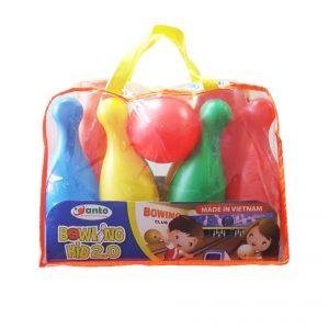 Bộ đồ chơi Sato24 bóng Bowling Kid 2.0 (Dạng túi xách tiện lợi)
