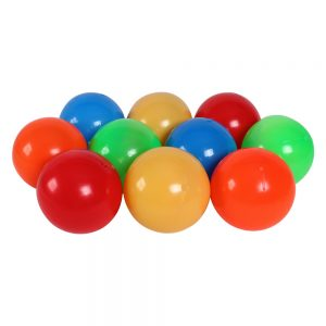 Túi bóng mầm non Sato 10 quả size 11cm (Quả to, bóng mềm)