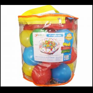 Nhà bóng Sato Mẫu 1 chất liệu an toàn (Tặng kèm 20 quả bóng nhựa)