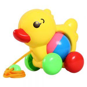Đồ chơi thú cưng tinh nghịch Vịt tồ Sato (Chất liệu an toàn, bền đẹp)