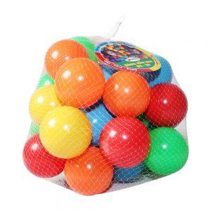 Túi bóng mầm non Sato 30 quả (Size 8cm, nhiều màu sắc)