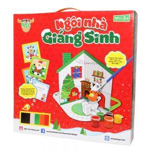 Bộ đồ chơi sáng tạo Ngôi nhà giáng sinh Kibu (Quà tặng giáng sinh)