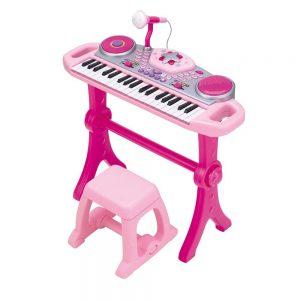Đàn organ WinFun kèm mic và bàn DJ 2068G