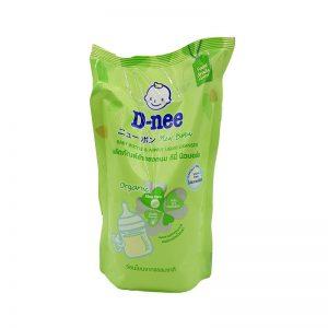 Nước rửa bình sữa và rau quả Dnee 600ml (Mẫu mới)
