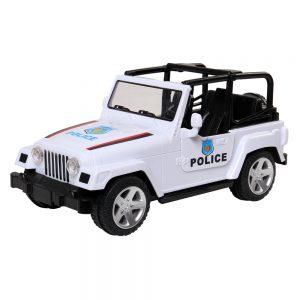 Đồ chơi xe ô tô cảnh sát kiểu dáng xe Jeep (Có đèn và nhạc)