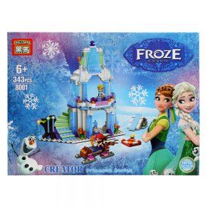Bộ đồ chơi ghép hình Elsa xinh đẹp 8001 (343 Chi tiết)
