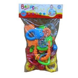 Đồ chơi túi xúc xắc Baby set 628-39/96 (8 chi tiết)