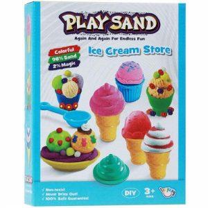 Bộ đồ chơi cát động lực làm kem LZY802
