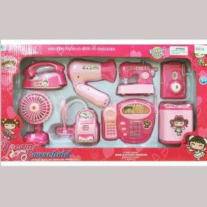 Bộ đồ chơi nhà bếp bằng nhựa – Bộ đồ dùng 8 món YH898-2