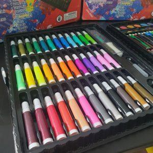 Bộ Đồ Chơi Hộp Bút Chì Màu 150 Chi Tiết