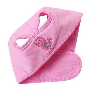 Mũ che thóp cho bé sơ sinh (Thiết kế quai dán tiện dụng)