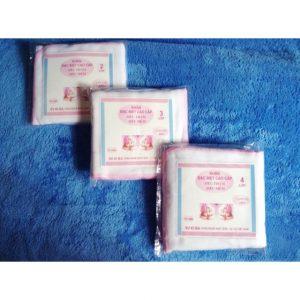 Set 10 chiếc khăn xô sữa Kiba 4 lớp siêu mềm