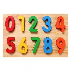 Bảng số học Etic C658 (Cho bé học số từ 0 đến 9)