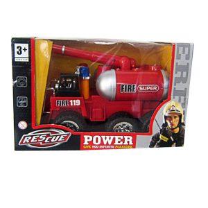 Bộ đồ chơi xe ô tô cứu hỏa chạy pin 128-1