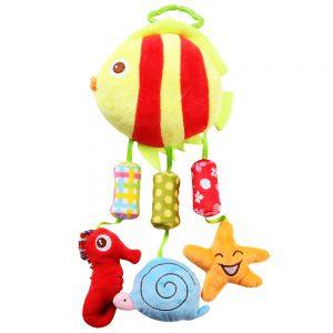 Bộ đồ chơi treo nôi hình cá (Thiết kế ngộ nghĩnh)