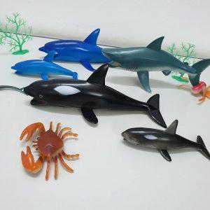 Đồ chơi mô hình các động vật biển (bộ lớn)