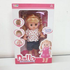 Đồ chơi Búp bê Delia (biết hát, xinh xắn, đáng yêu)