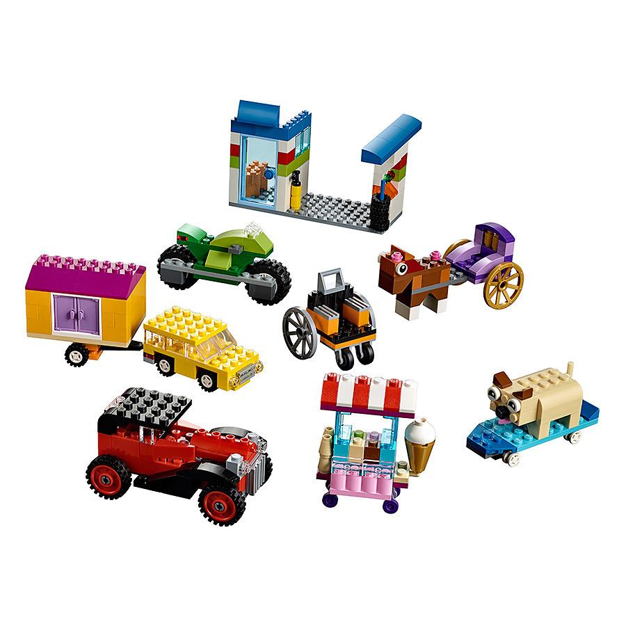 Bộ Lắp Ghép Sáng Tạo LEGO Classic 460 Chi Tiết - LinhAnhKids.com