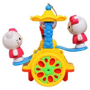 Đồ chơi đèn lồng Hello Kitty bập bênh đáng yêu