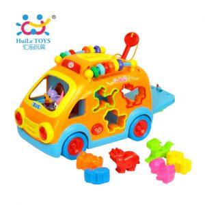 Đồ chơi xe bus thả hình Huile Toys 988