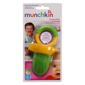 Túi ăn chống hóc Munchkin (màu xanh lá cây)