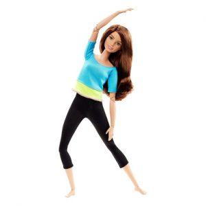 Búp bê yoga Barbie xinh xắn, đáng yêu.