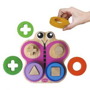 Đồ chơi xếp chồng hình chú bướm Winwin Toys