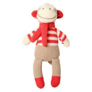 Khỉ bông áo đỏ (đáng yêu ngộ nghĩnh)