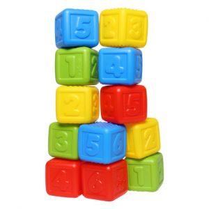 Đồ chơi xếp hình khối Pamama nhiều màu sắc