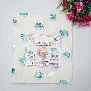 Khăn tắm hoa 4 lớp xuất nhật dành cho bé