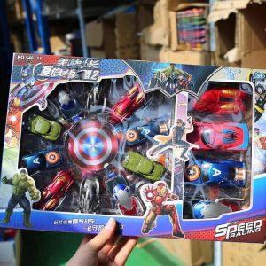 Set 14 Siêu xe anh hùng Avenger