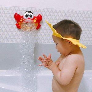Cua thổi bong bóng có nhạc cho bé