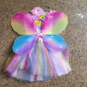 Bộ cánh bướm thiên thần bảy màu