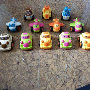 Xe đồ chơi chạy đà (nhiều mẫu xe, rất cute)