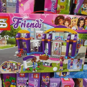 Lego friends phòng tập thể dục (349 PSC)