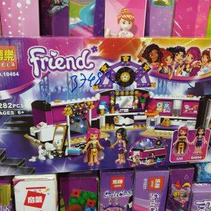 Lego Friend – Phòng thay đồ trang phục ngôi sao