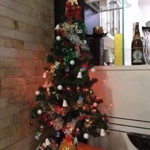 Cây thông Noel cao 1.5m đầy đủ phụ kiện