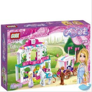 Bộ đồ chơi Lego lâu đài công chúa (chất liệu an toàn)